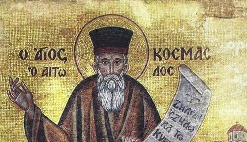 [Εισήγηση σε ημερίδα για τα 300 χρόνια από την γέννηση τού Πατροκοσμά, Κυριακή 7 Δεκεμβρίου 2014] ΚΟΣΜΑΣ Ο ΑΙΤΩΛΟΣ ΚΑΙ ΤΟ ΙΣΤΟΡΙΚΟ ΠΛΑΙΣΙΟ ΔΡΑΣΗΣ ΤΟΥ Μετά την οριστική πτώση τού Βυζαντινού Κράτους στα χέρια των Οθωμανών, αρχίζει μία νέα περίοδος…