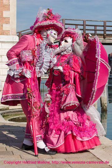 Carnevale di Venezia ~ Venice carnival mask and costume