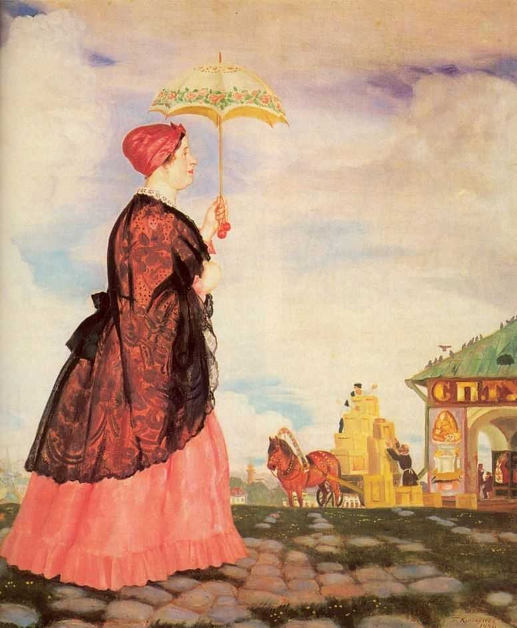 Boris Kustodiev 1878-1927 | Russian painter | Tutt'Art@ | Pittura * Scultura * Poesia * Musica |