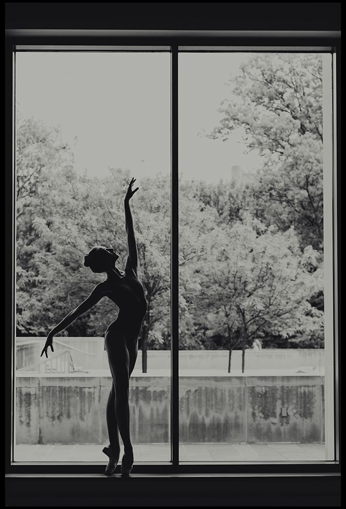 ballerina at the jacobs school of music bloomington, indiana