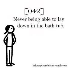 More like sit with your legs stretched out and the upper half of your body out of the water >
