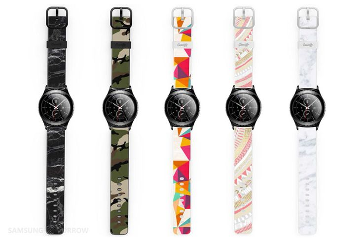 see the best watch straps for Samsung Gear S2 and Gear S2 classic see details of the third party watch bands for the smartwatch,