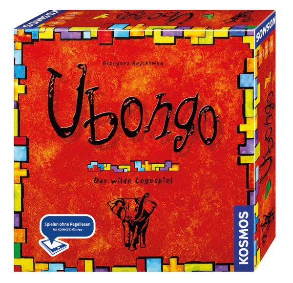 Ubongo, ab 8 Jahre, auch als Juniorversion oder Reisespiel erhältlich.