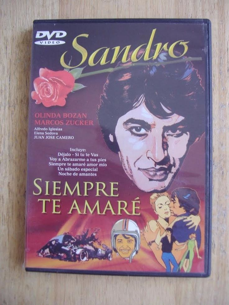 Dvd Original Sandro Siempre Te Amare Pelicula