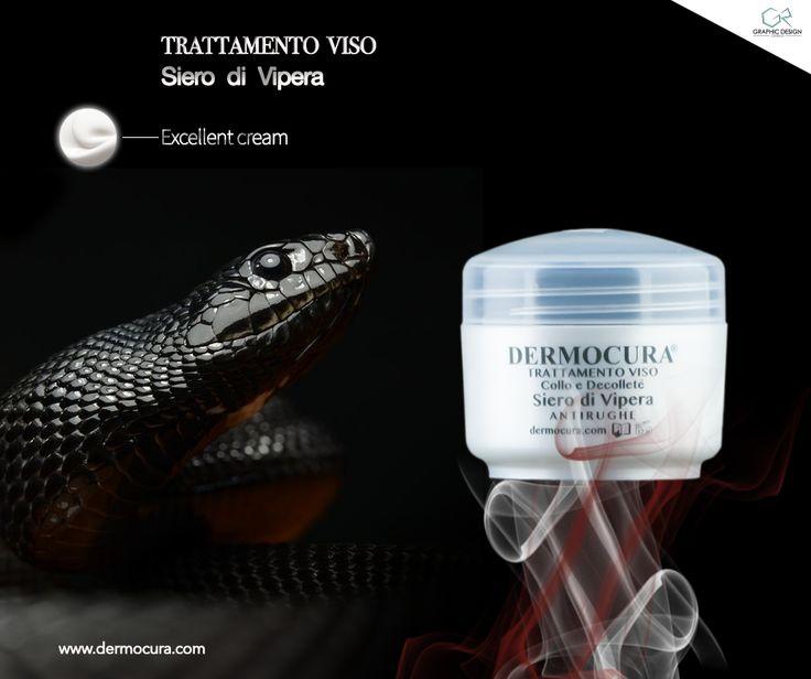 GR Graphic and Web Design for Dermocura - Cosmetics  Siero di Vipera