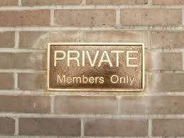 PASSIVE INCOME = Private Clubs