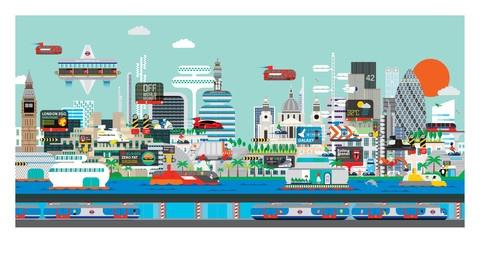 Amazing depiction of London.