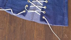 """Képtalálat a következőre: """"corseted jean skirt with lace"""""""