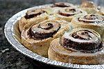 Фото рецепта: Быстрые булочки с корицей