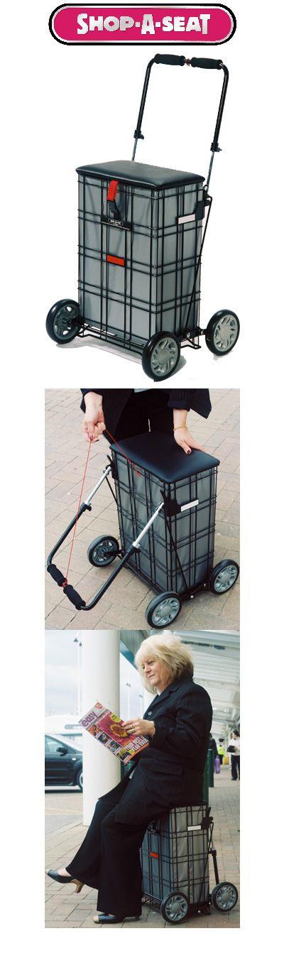 Shop-A-Seat Liberator 4 Wheel Shopping Trolley