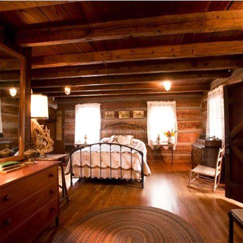 17 best images about log cabin inspiration on pinterest log cabin bathrooms master bedrooms - Log cabin bedrooms ...