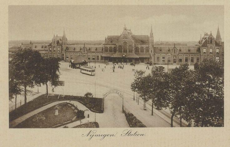 Nijmegen Station Voorgevel