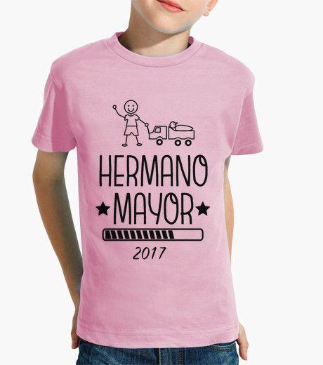 Camiseta Hermano Mayor 2017 rosa
