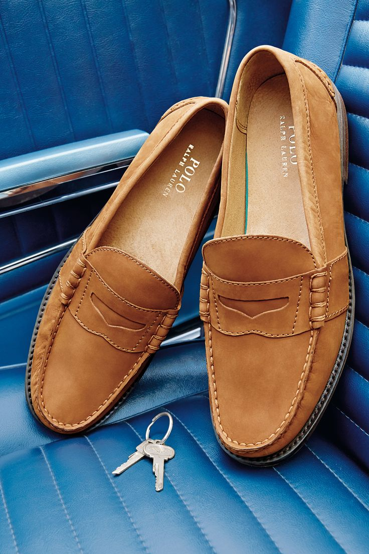 Polo Ralph Lauren Kennith Loafers for Men. These aren't your average loafers: handsewn leather and luxurious.