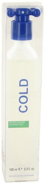 Benetton COLD by Eau De Toilette Spray for Men (3.4 oz)