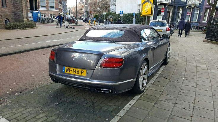 Bentley Convertible / 2017 / 528 hp / Amsterdam