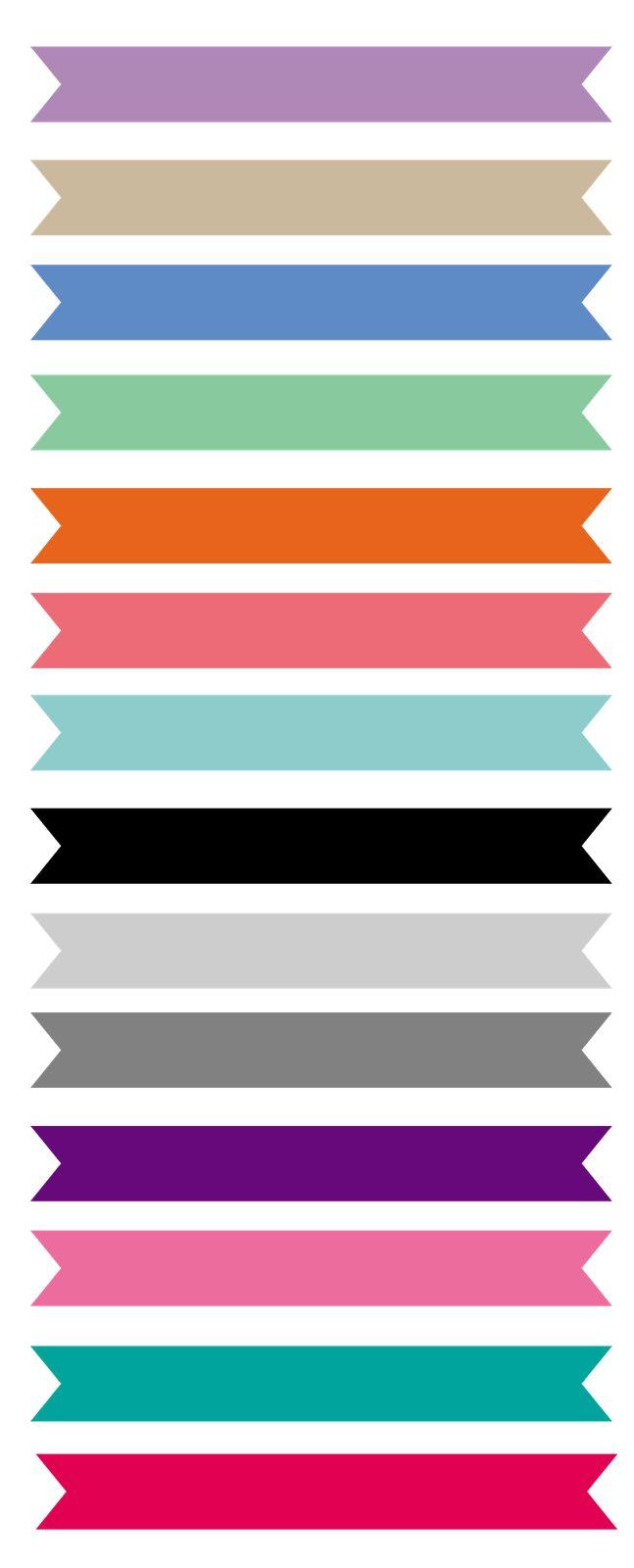 Ribbon: faixas grátis para baixar - Cantinho do blog