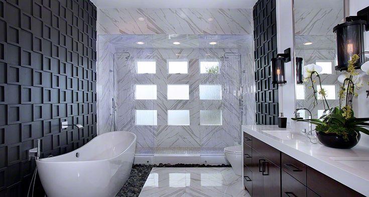 Bathroom Flooring Porcelain Pietra Calacatta room scene