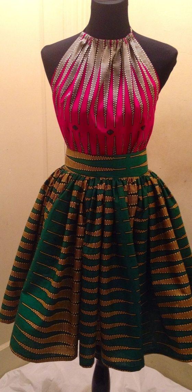 The Nkrumah Skirt and Top