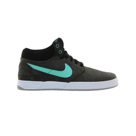 mens nike paul rodriguez 5 mid (black mint white) the newest