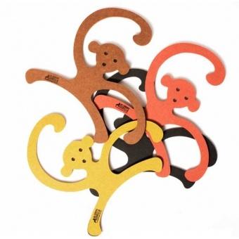 Cintre Singe - Orange  Our Children's Gorilla