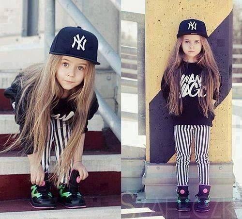 #fashion #kids #girl #adorable #cute