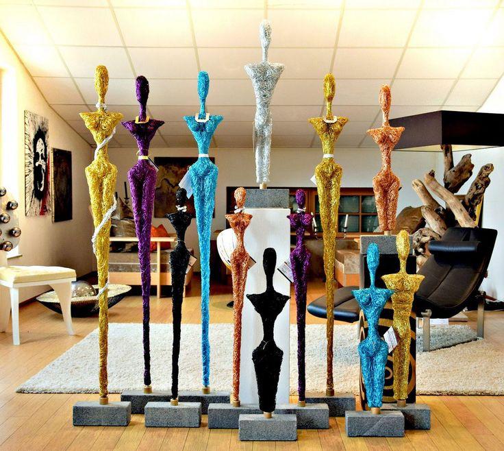Design Draht Lampen & Draht Skulptur Leuchten