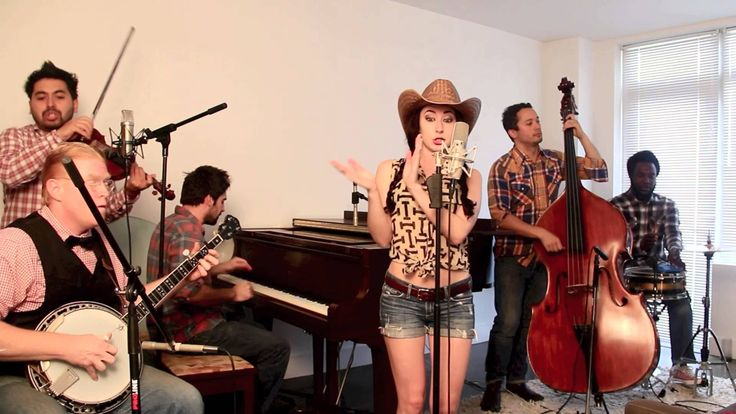 "Blurred Lines - Vintage ""Bluegrass Barn Dance"" Robin Thicke Cover for Lindsey Lee Ann Marie America Slime"