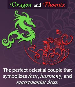 Symbolism of Dragon and Phoenix in Feng shui