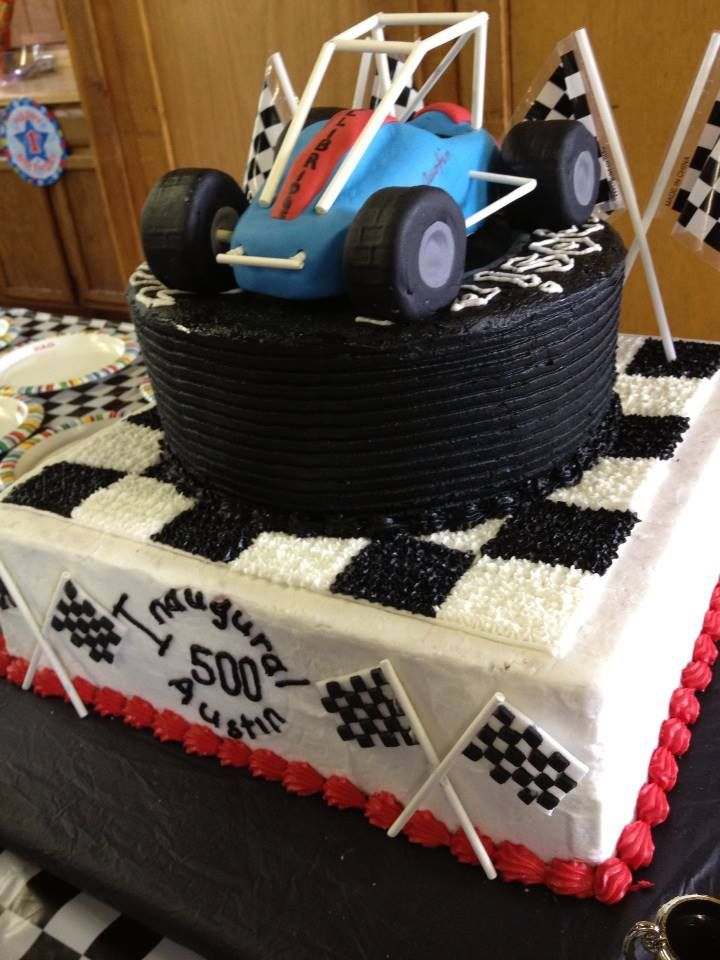 Topless Sprint Car Cake For Austin S B Day Stuff For
