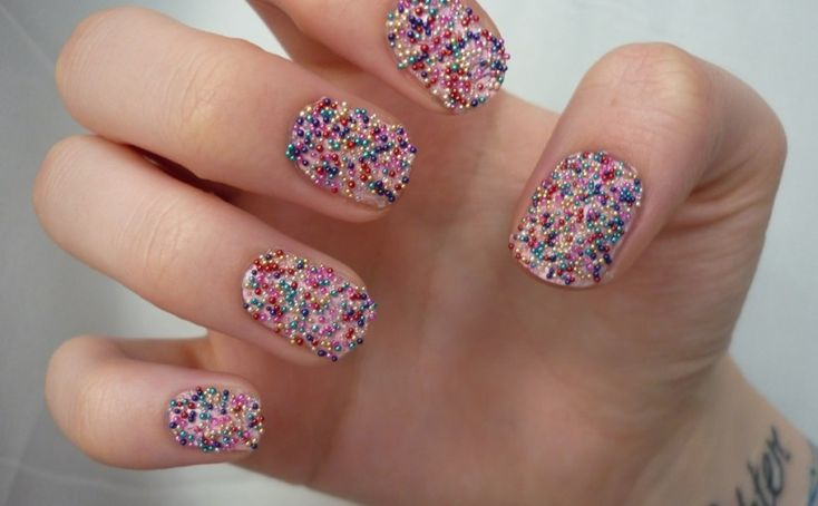Check Out 25 Best Manicure Nail Art Ideas. Since the 1930s, nail art as come a long way. The technique of airbrushing nails is still relatively new. It includes an airbrushing machine designed to perform manicure nail art.