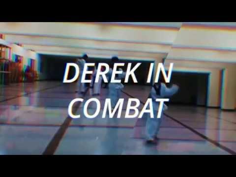 Derek in combat training