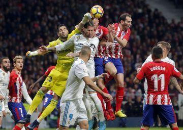 Atlético y Real Madrid dan vida al Barça (0-0)