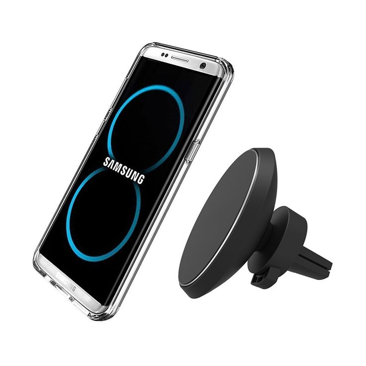 sale qi car wireless charge for iphone 8 iphone x samsung s8 s8 plus s7 edge s7 flexible rotation #mounting #magnets