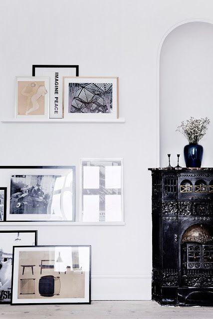 The home of stylist Nathalie Schwer, photo by Line Klein