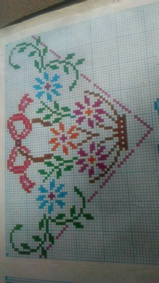 622 Best Punto Cruz Images On Pinterest Embroidery Cross Stitch