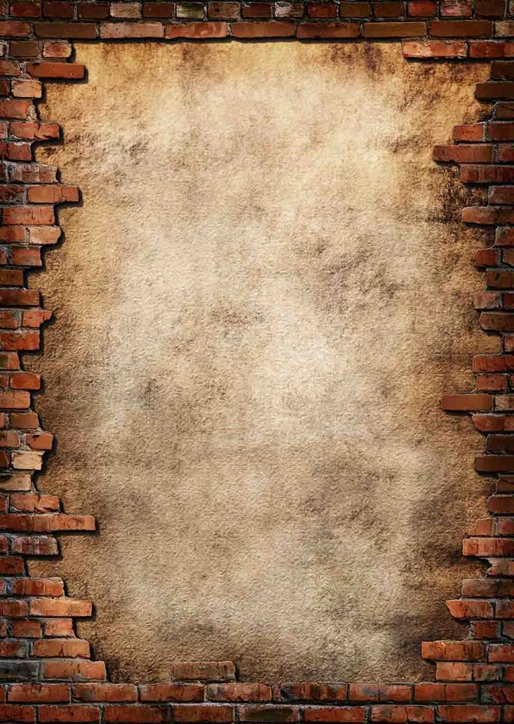 Senior Red Brick Wall With A Hole In Center Backdrop For Photography Background For Photography Texture Background Hd Background Vintage