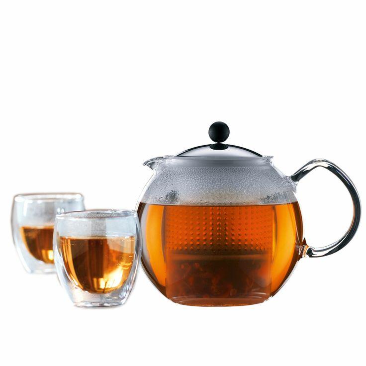Gruppenbild: Assam Tee-Set Bodum Assam offer - Set Bodum Assam Angebots - Set 4 von 5 8 Bewertungen Ausgewählte Variante: Bodum - Assam,Tee-Set (Teebereiter und Gläser) Selected variant: Bodum - Assam, tea set (tea makers and glasses)