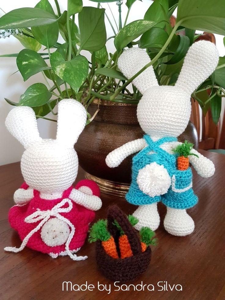 Coelho, Bunny #amigurumi