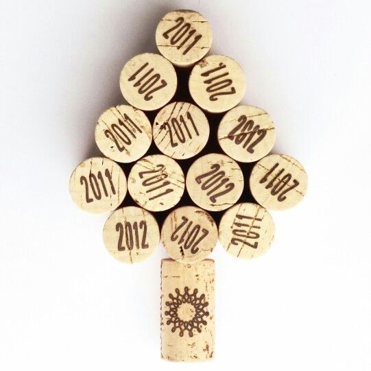 Wine cork photo christmas