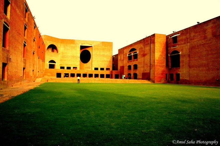 IIM Ahemdabad's iconic pic