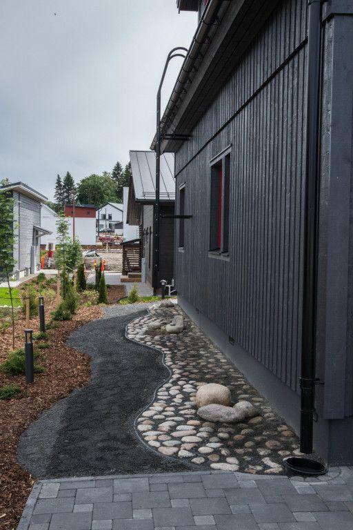Messukohde, Jyväskylän asuntomessut 2014. Älvsbytalo, Suometar.
