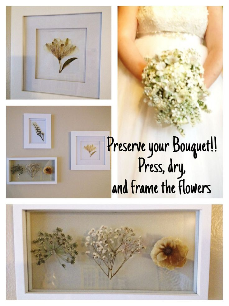 DIY Wedding Bouquet Preservation: This is how I preserved my wedding ...