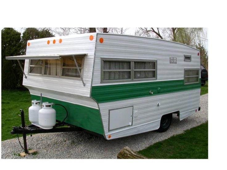 Vintage 13 Foot Travel Trailer 1971 Bravo Rare In Rvs Campers Ebay Motors Travel