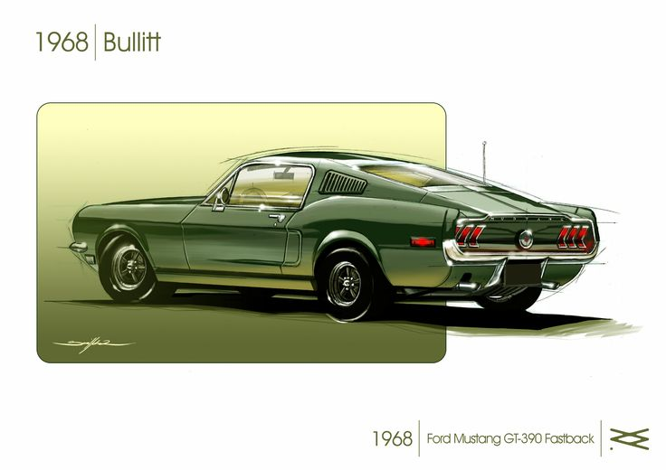 MUSTANG GT 390 FASTBACK 1968
