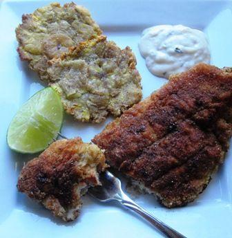 Breaded Catfish (Bagre Apanado o A la Milanesa)