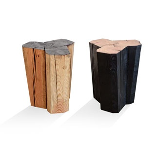 HollerDesign beam stools