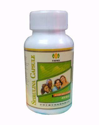 Tiens BD Product Price List: Tianshi spirulina capsules