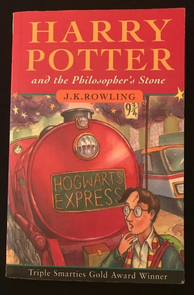 Harry Potter And The Philosophers Stone By J K Rowling Paperback