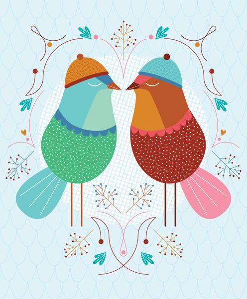 #Birds love